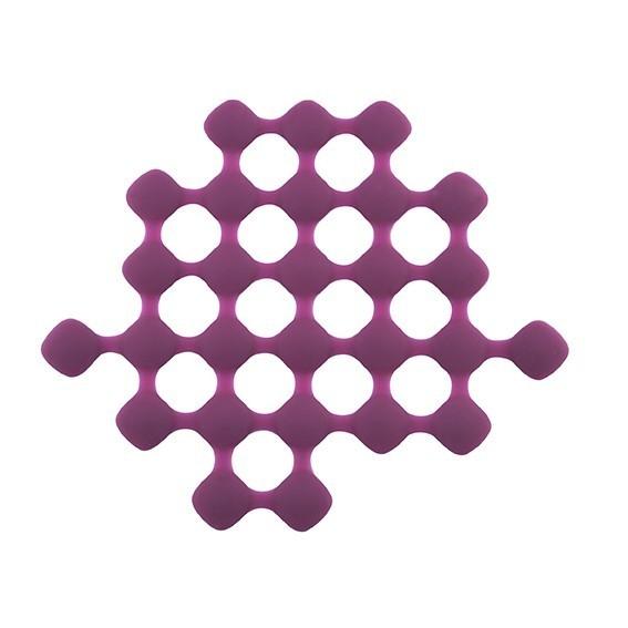 S- PLAT TRIVET SILICONE MAUVE 24.5 X21.0 CM REF861209 PROMO FIN17