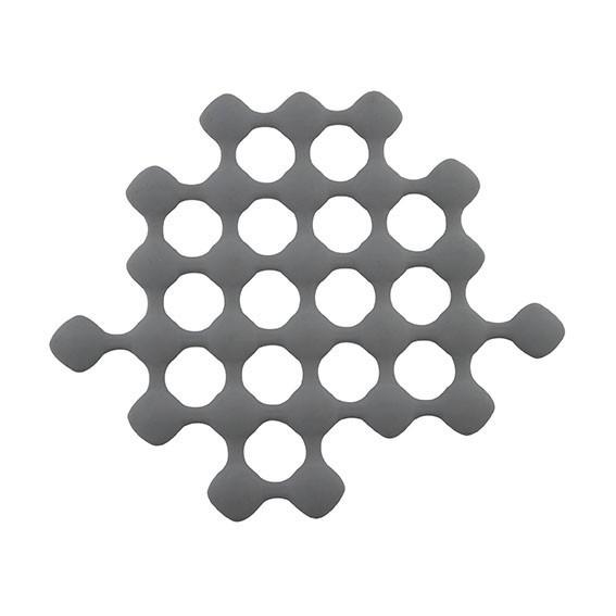 S- PLAT TRIVET SILICONE GRIS 24.5X21 CM REF 861208 PROMO FIN17