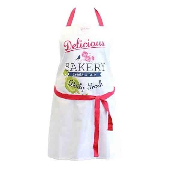 TABLIER DE CUISINE DELICIOUS BAKERY DUTCH ROSE REF 174341