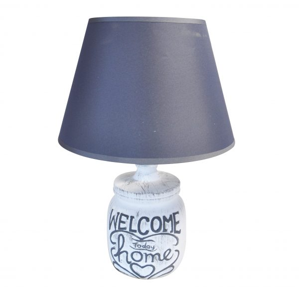 LAMPE DE TABLE MESSAGE 10X34 CM REF MA101