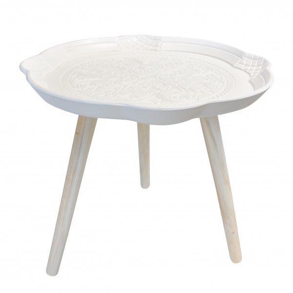 Table D'appoint trepied en Bois