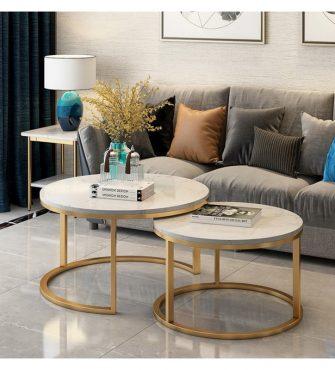 table-de-base-duo-dore-marbre-blanc-80x60cm